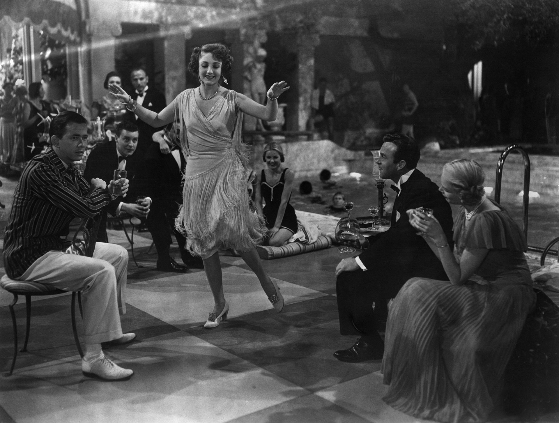 Dancing the Charleston, scene from The Great Gatsby